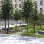 Caserne Colbert à Reims - Dallage multiformat, Architecte Paysagiste Serge Renaudie