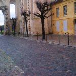 Pavés 14x20x14 Grès de réemploi rue du connétable Chantilly (60)