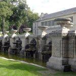Restauration bassin, Fontaine de Beauvais chantilly