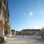 Cathédrale de Reims - fourniture des pavés du parvis