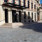 Cour de la Maison de Champagne Veuve Clicquot